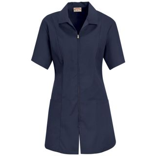 Womens Zip-front Smock-Red Kap®