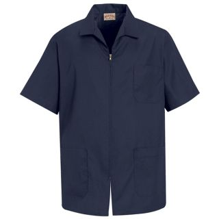 Mens Zip-front Smock-Red Kap®