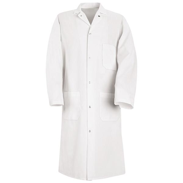 Buy Gripper-Front Spun Polyester Butcher Coat - Red Kap® Online at ... 9dd0aa58a