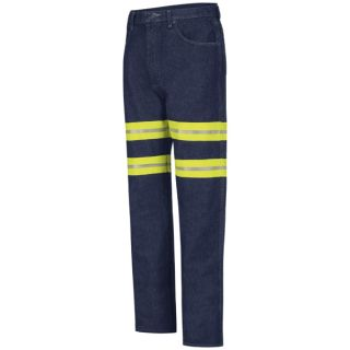 Enhanced Visibility Mens Relaxed Fit Jean-Red Kap®