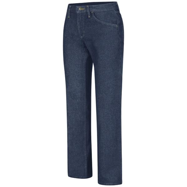 Womens Straight Fit Jean-Red Kap®