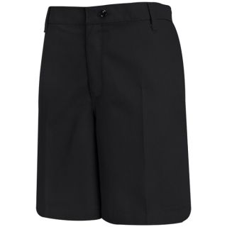Womens Plain Front Short-