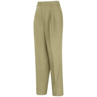 Acura Womens Pleated Twill Slacks - PT39KH-