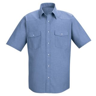 SC24 Mens Deluxe Western Style Shirt