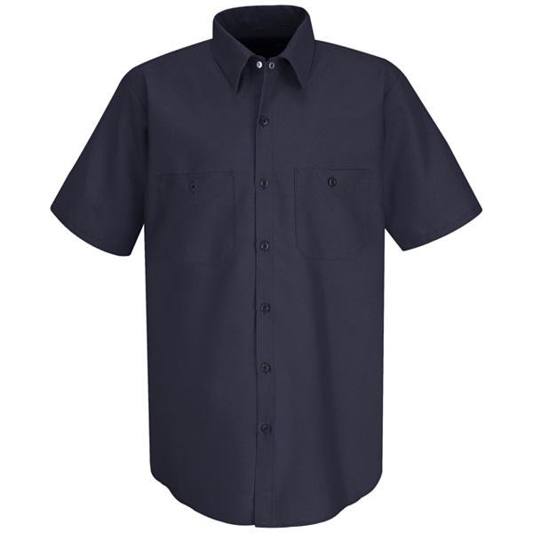 SC40 Men's Wrinkle-Resistant Cotton Work Shirt-