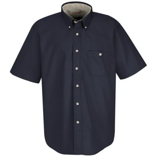 Mens Cotton Contrast Dress Shirt-
