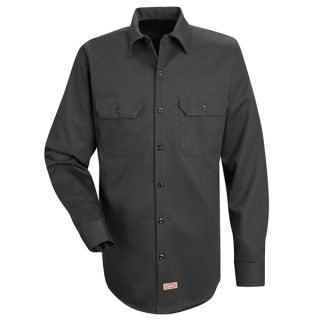 Mens Deluxe Heavyweight Cotton Shirt-Red Kap®