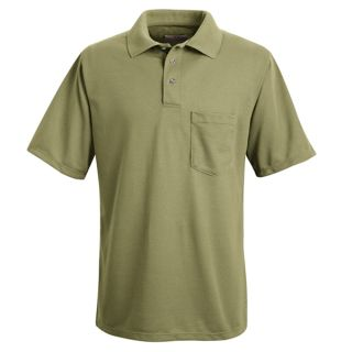 Performance Knit Polyester Solid Shirt-