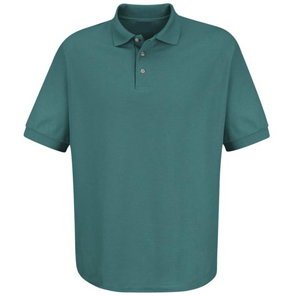 Cotton / Polyester Blend Pique Knit Shirt-Red Kap®