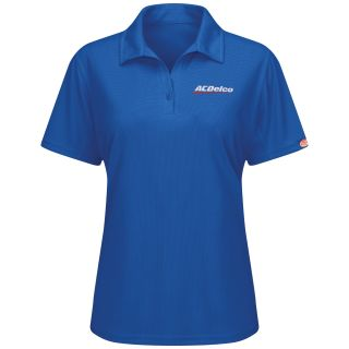 ACDelco Womens Short Sleeve Performance Knit Flex Series Pro Polo - SK91AB-Red Kap®