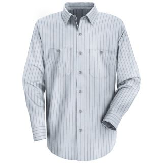 SP10 Mens Industrial Stripe Work Shirt