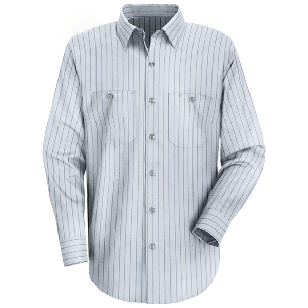 Buy SP10 Mens Industrial Stripe Work Shirt - Red Kap® Online at Best ... b3851bf2f