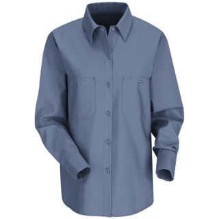 Womens Industrial Work Shirt-Red Kap®