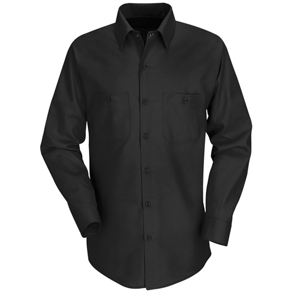 Red Kap Men's Long Sleeve Work Shirt - SP14-Red Kap®