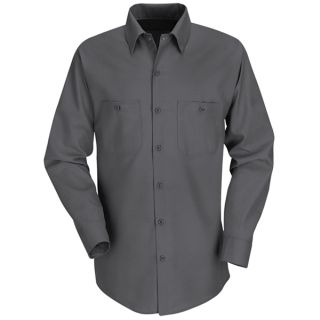 Red Kap Men s Long-Sleeve Work Shirt-
