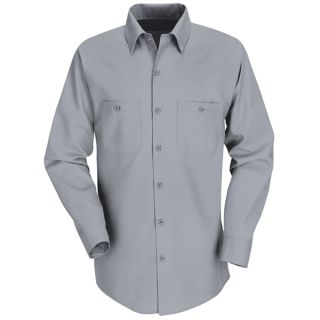 Mens Industrial Work Shirt-Red Kap®