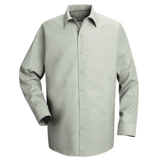 Mens Specialized Pocketless Work Shirt-Red Kap®