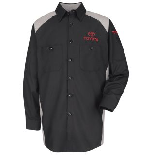 Toyota Mens Long Sleeve Motorsports Shirt - SP18TT-