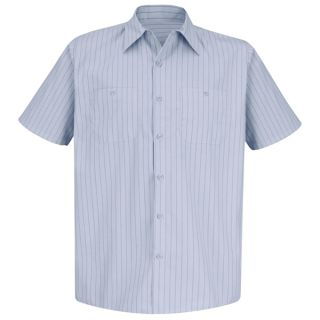 SP20 Mens Industrial Stripe Work Shirt-