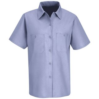 Red Kap Womens Short-Sleeve Work Shirt-Red kap