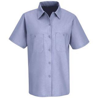 Red Kap Women's Short-Sleeve Work Shirt