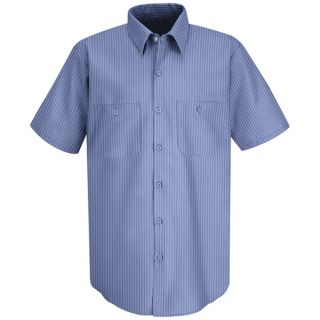 Mens Durastripe Work Shirt
