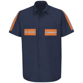 SP24_Envis Enhanced Visibility Shirt-Red Kap®