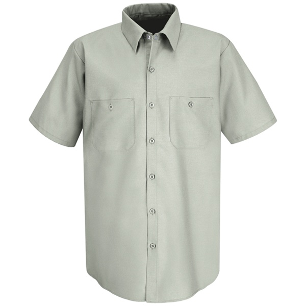 SP24 Men's Industrial Work Shirt-Red Kap®
