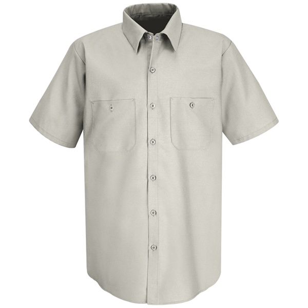 Red Kap Men's Short Sleeve Industrial Work Shirt - SP24-