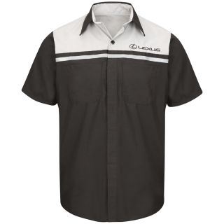 Red Kap SP24LX Lexus Technician Short Sleeve Shirt-Red kap