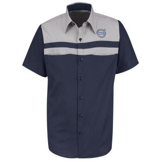Volvo Long Sleeve Technician Shirt - SP24VL-Red Kap®