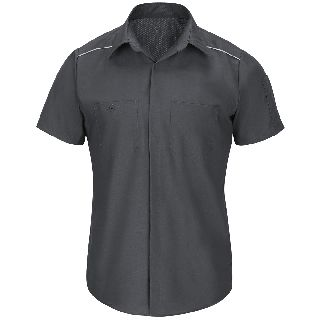 Mens Short Sleeve Pro AirFlow Shirt-Red Kap®