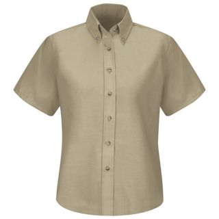 Womens Poplin Dress Shirt-
