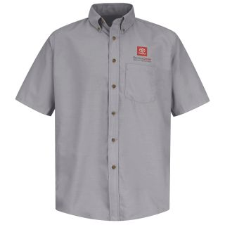 Toyota Mens Poplin Dress Shirt-