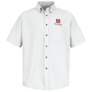 SP8TWH Toyota Mens Poplin Dress Shirt-