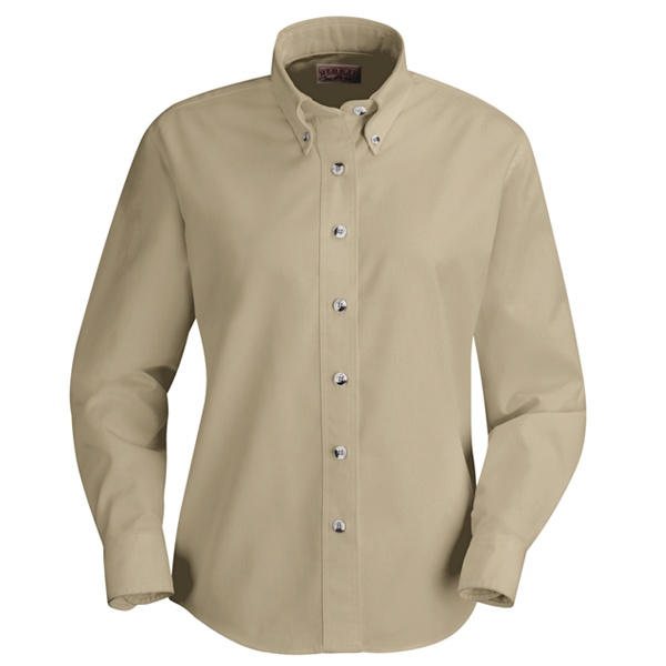 d3ee9b15 Buy SP91 Womens Poplin Dress Shirt - Red Kap® Online at Best price - IA