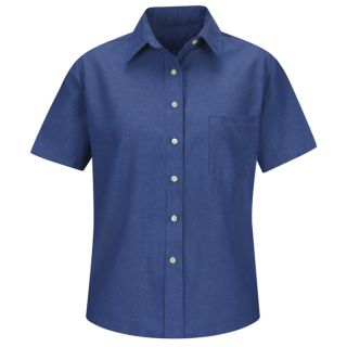Womens Oxford Dress Shirt-