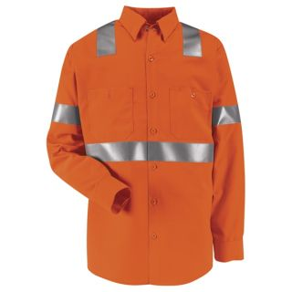 Hi-Visibility Work Shirt - Class 2 Level 2-Red Kap®