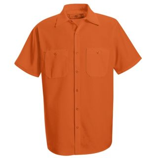 SS24_Enhanced Enhanced Visibility Work Shirt-Red Kap®