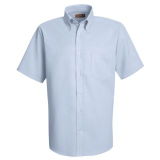 SS46 Mens Easy Care Dress Shirt-Red Kap®