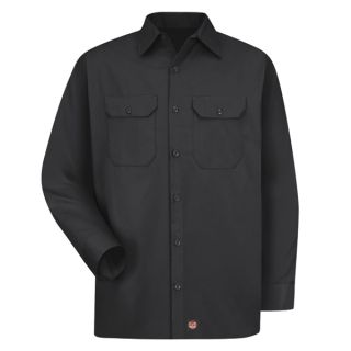 Red Kap® Industrial Shirts Mens Utility Uniform Shirt-Red kap