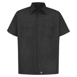 ST62 Mens Utility Uniform Shirt-Red kap