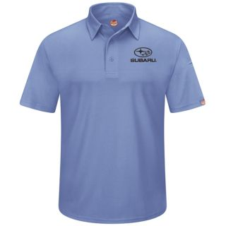 Subaru Mens Short Sleeve Performance Knit Flex Series Pro Polo - SUK2MB-