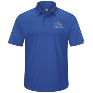 Subaru Mens Short Sleeve Performance Knit Flex Series Pro Polo - SUK3RB-