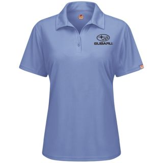 Subaru Womens Short Sleeve Performance Knit Flex Series Pro Polo - SUK7MB-