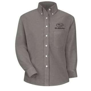 Subaru F LS Oxford Shirt -GY-Red Kap®