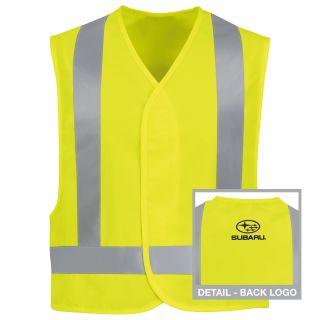 Subaru Hi-Visibility Safety Vest - SUV1YE-Red Kap®