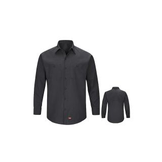 Mens MIMIX Long SleeveWork Shirt-