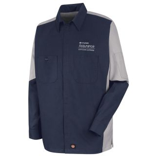 Hyundai Assurance Car Care Express Long Sleeve Technician Shirt - SY10HX-
