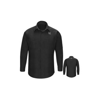 Mazda Long Sleeve Technician Shirt - SY14MZ-Red Kap®